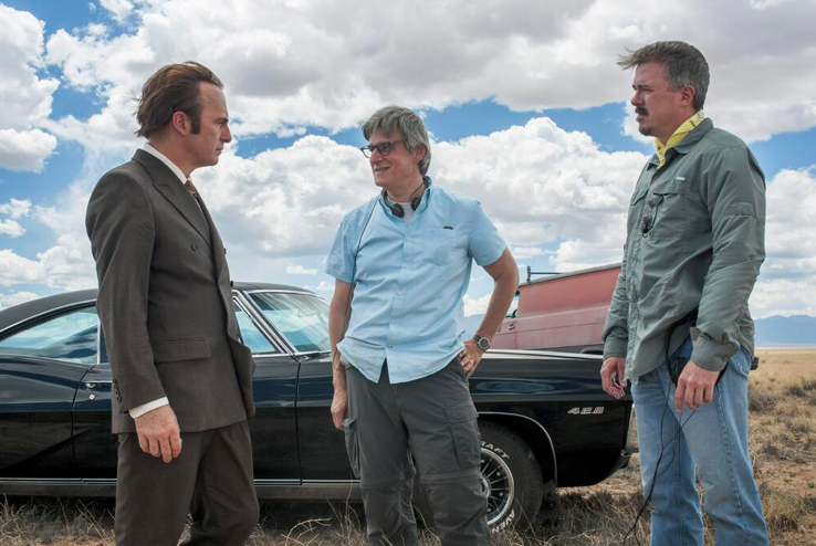 AMC tweeted the first snap on the Better Call Saul set