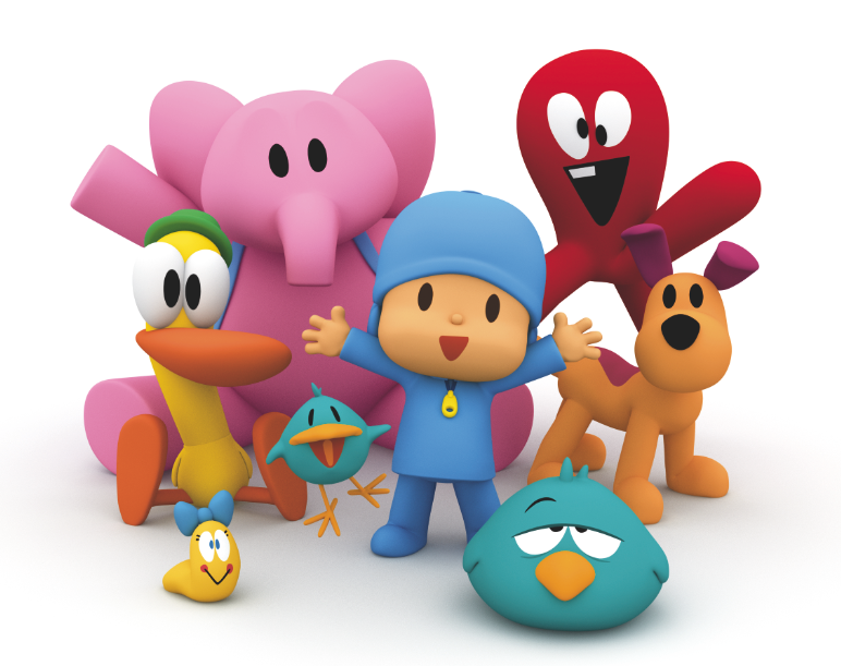 Pocoyo Birthday Cake Uk