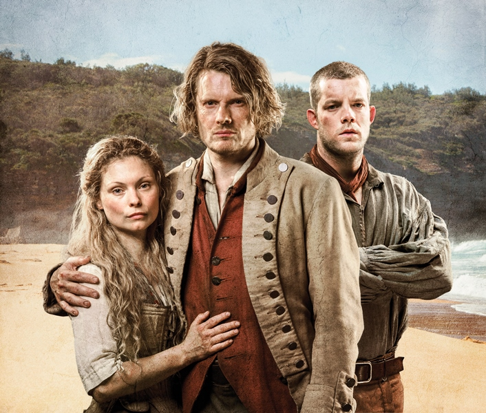 Picture shows:(L-R) Elizabeth Quinn (MYANNA BURING), Tommy Barrett (JULIAN RHIND-TUTT) and James Freeman (RUSSELL TOVEY),