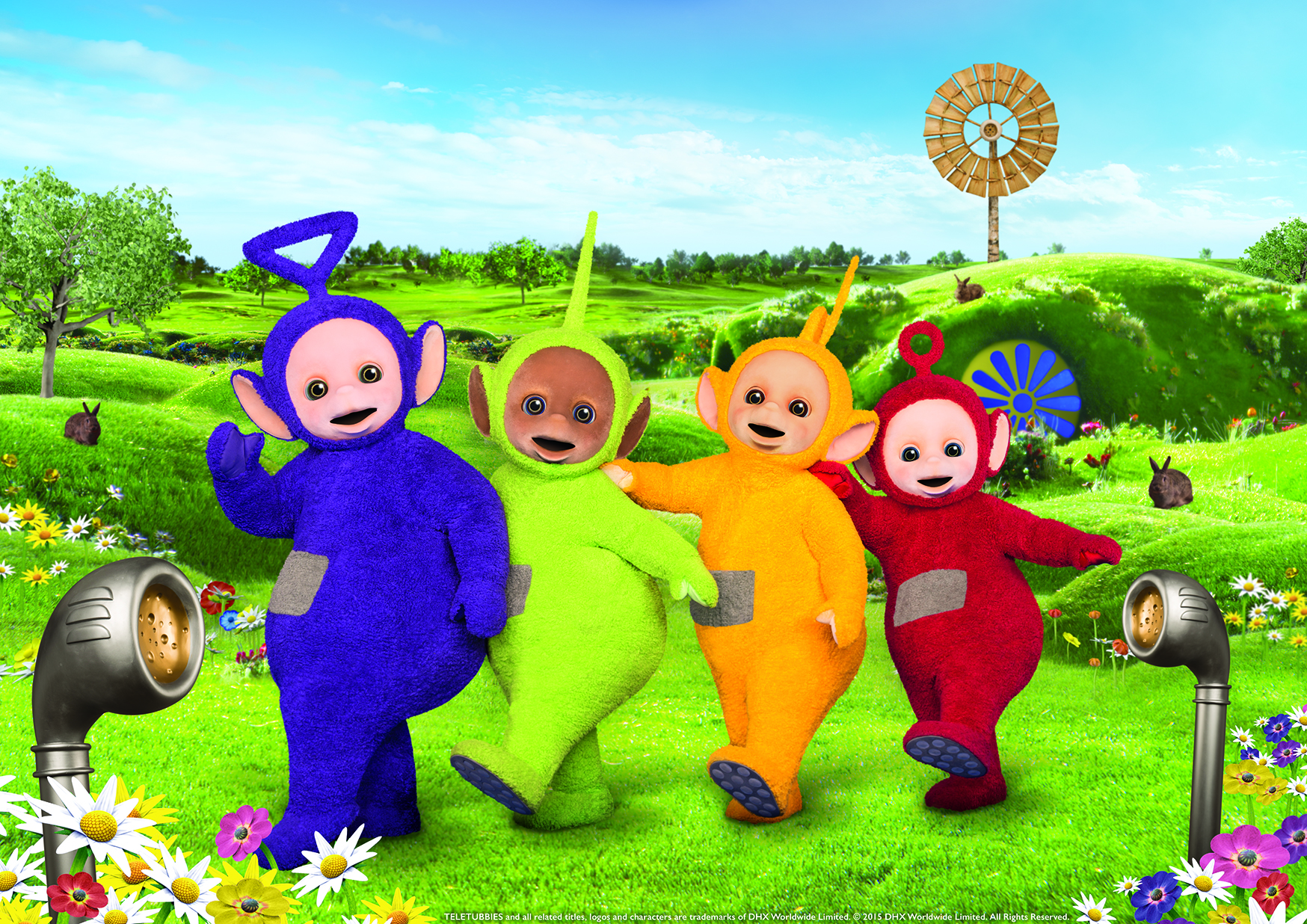 First look at the new Teletubbies reboot