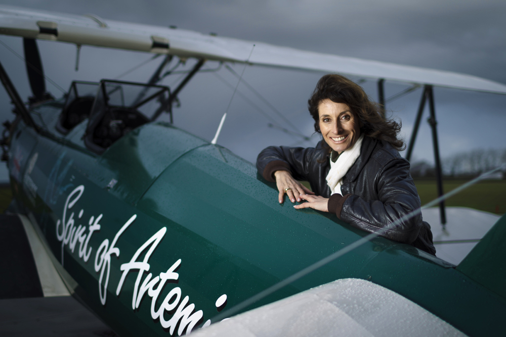 Aviator Tracey Curtis-Taylor