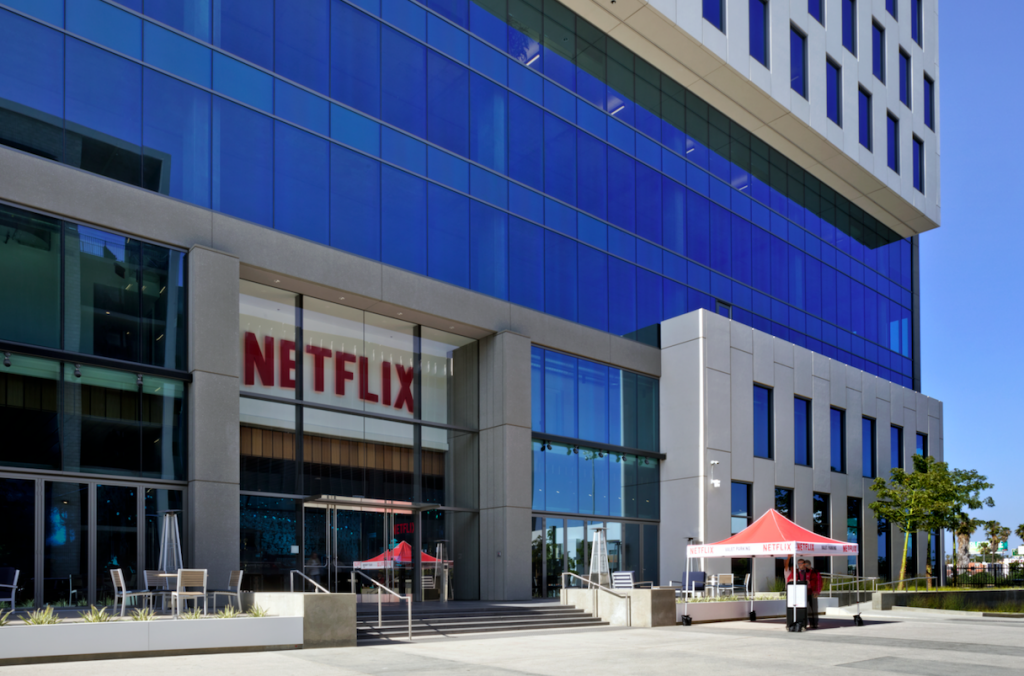 Netflix Hollywood office