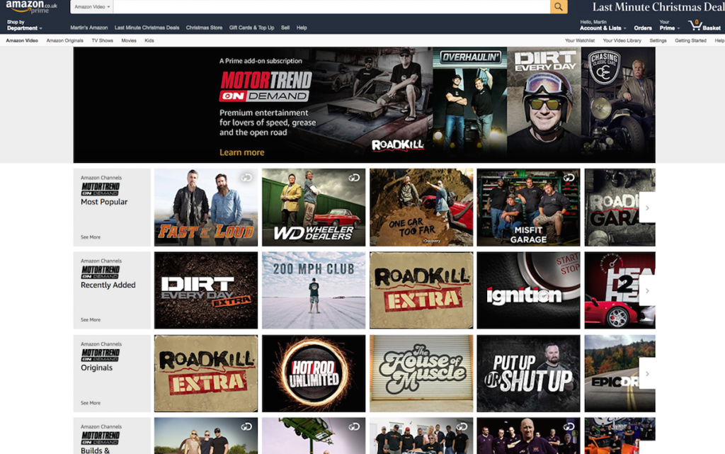 Discovery launches svod motorcar service tbi vision for Is motor trend on demand worth it