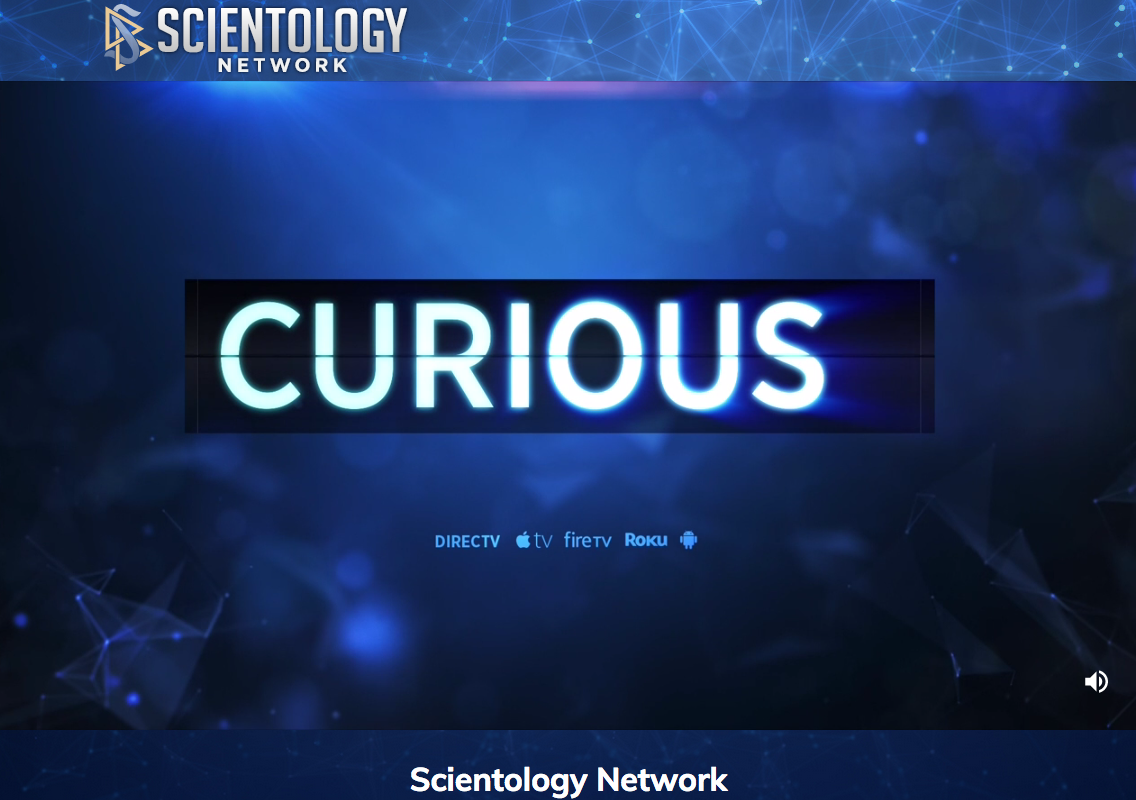 The Church of Scientology has created a thematic TV channel in the US