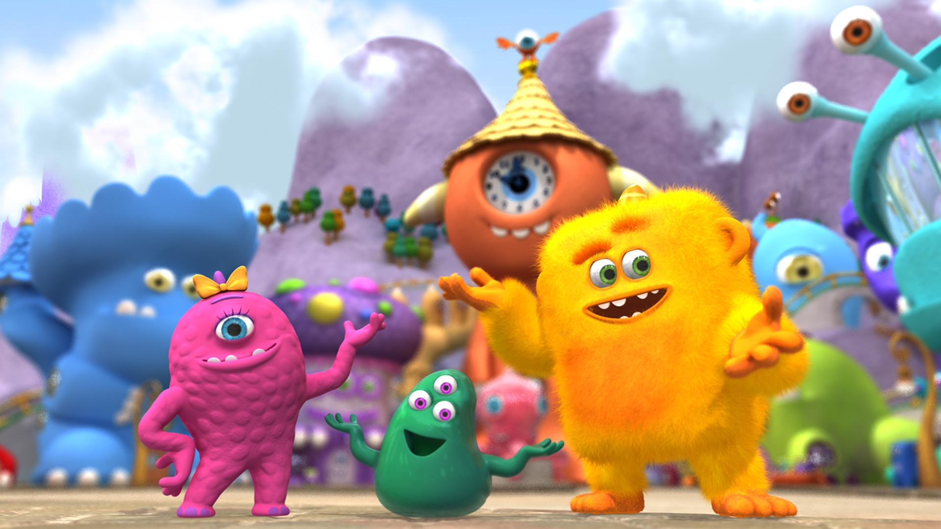 DHX MEDIA Monster Math Squad