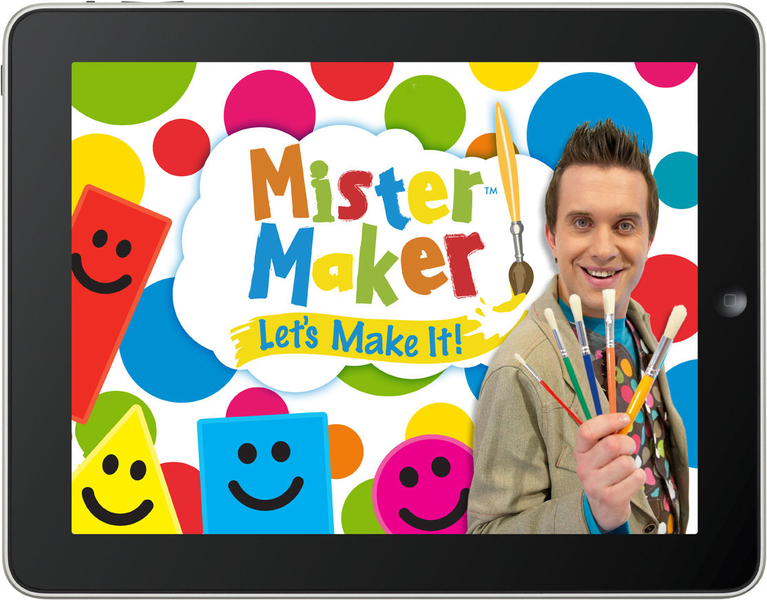 MrMaker iPad title screen APPROVED