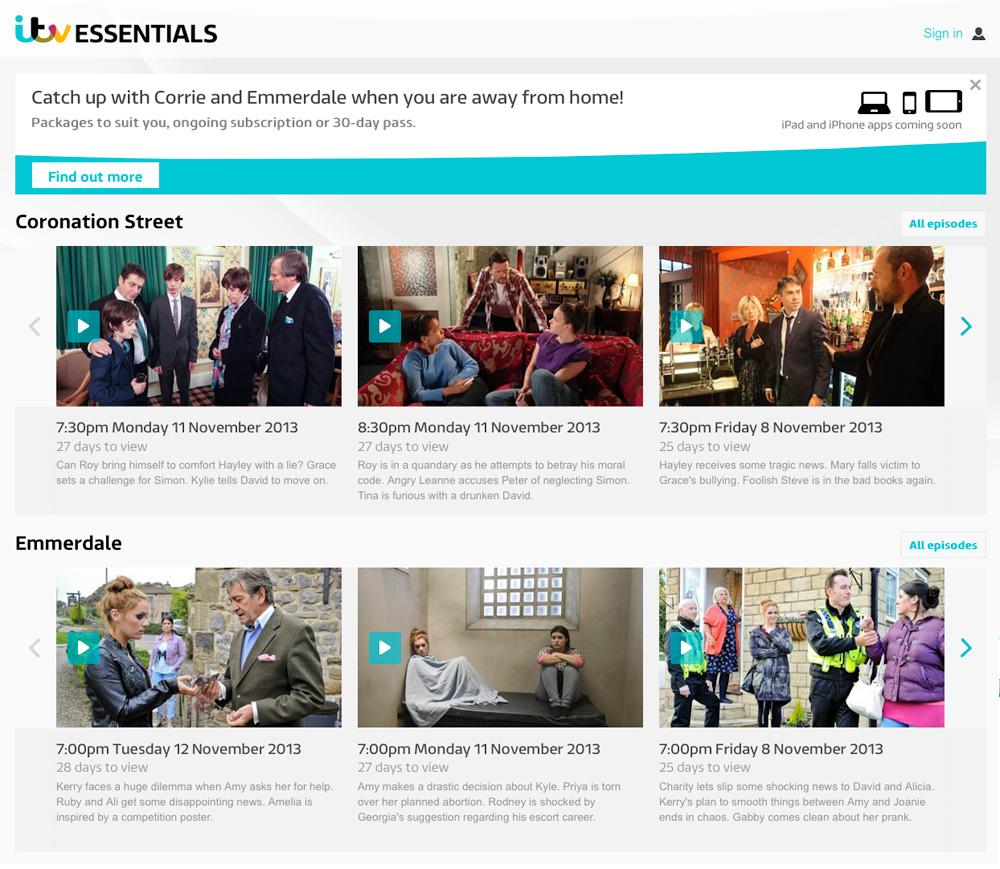 ITV launches intn'l Coronation Street, Emmerdale OTT service – TBI