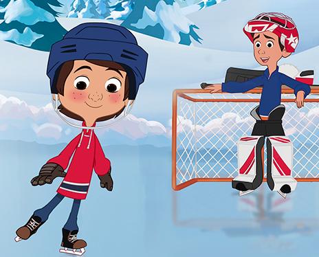 Magic Hockey Skates