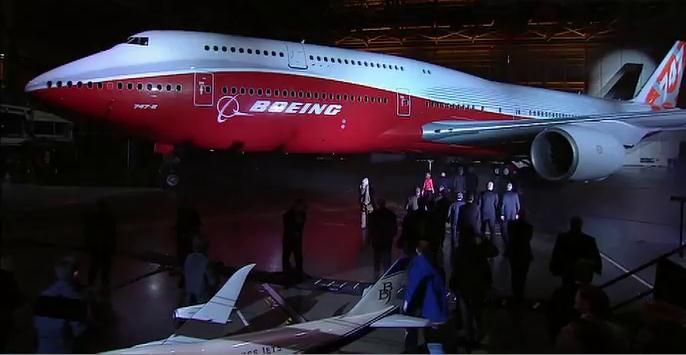 Jumbo - Launch of the new 747-8
