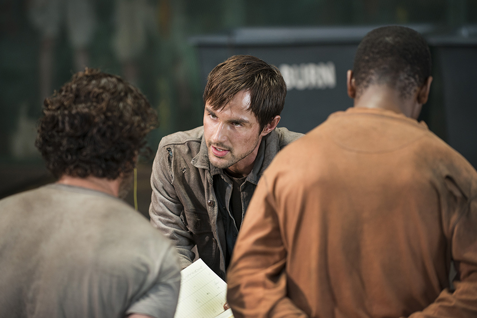 Walking Dead season 5 gareth scene