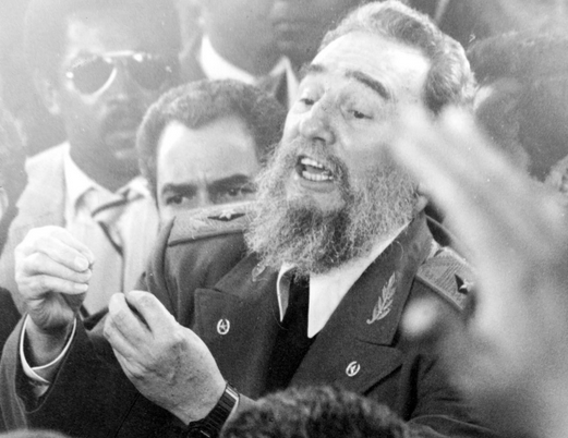 Castro the Most Watched Man in the World