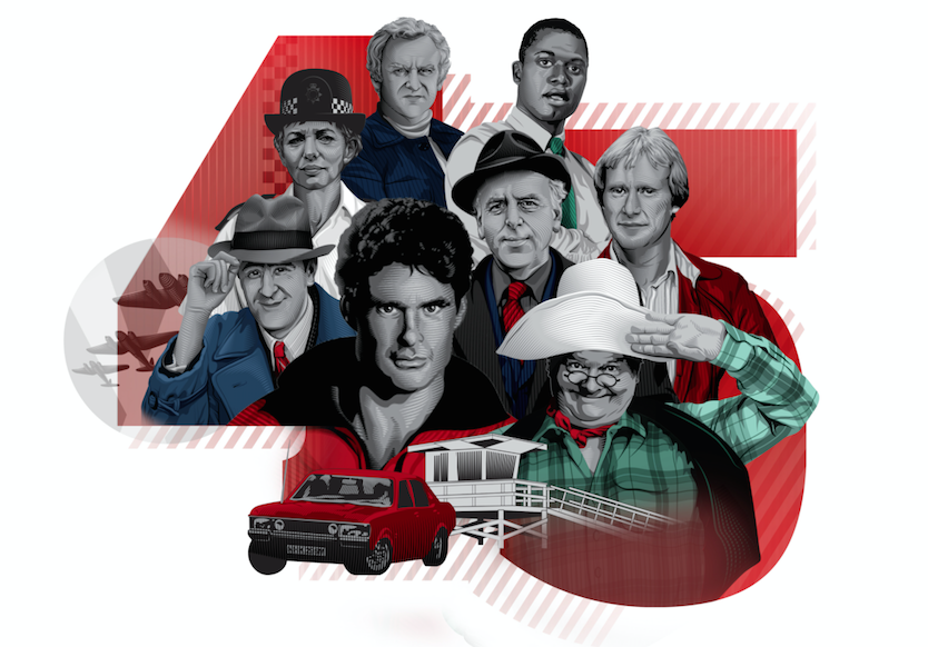 45 years of Classic Characters Comedy and Drama