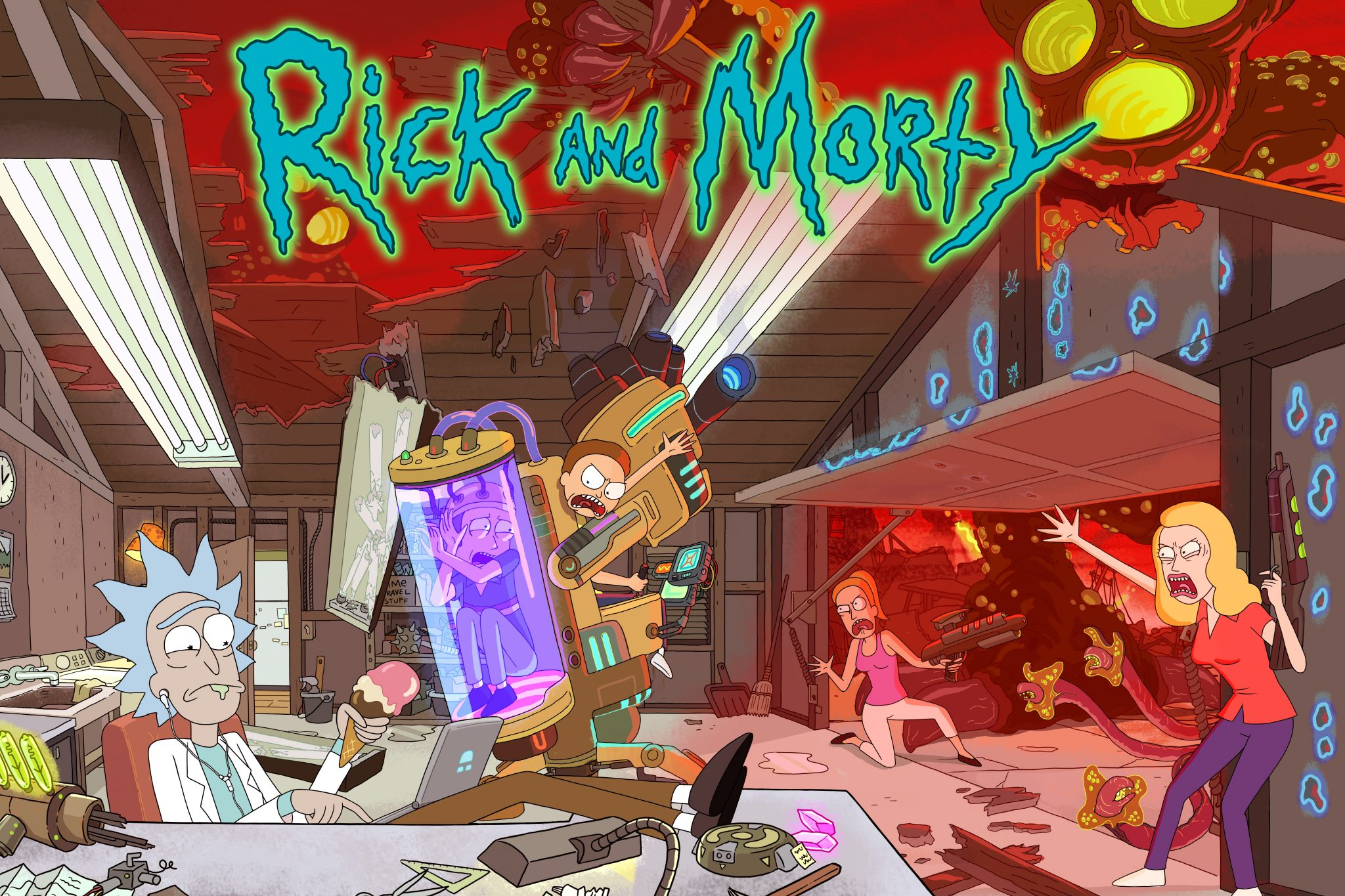 Rick and Morty is driving the roll out of Adult Swim