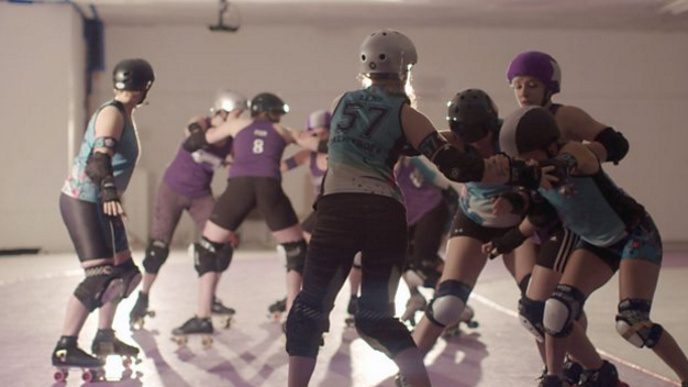 Roller Derby Skate Fast, Hit Hard
