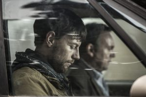 Patrick Fugit as Kyle Barnes in Outcast season one