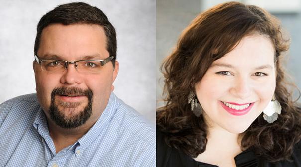 Robert Wimbish and Maggie Zeltner
