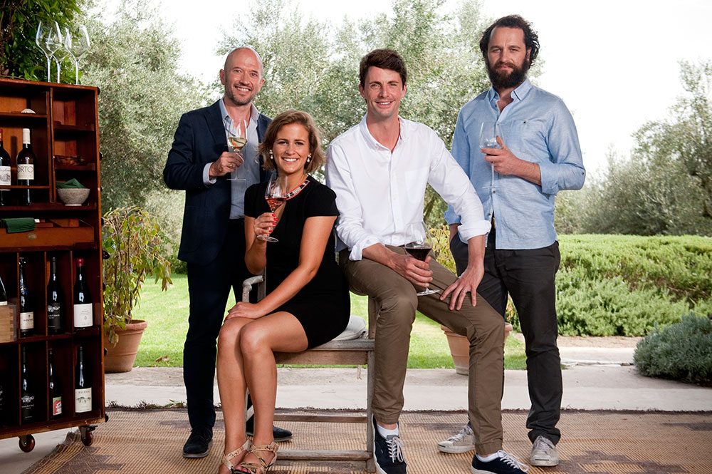 The-Wine-Show---Presenter-Four-Shot-(l-r-Joe-Fattorini-Amelia-Singer-Matthew-Goode-Matthew-Rhys)