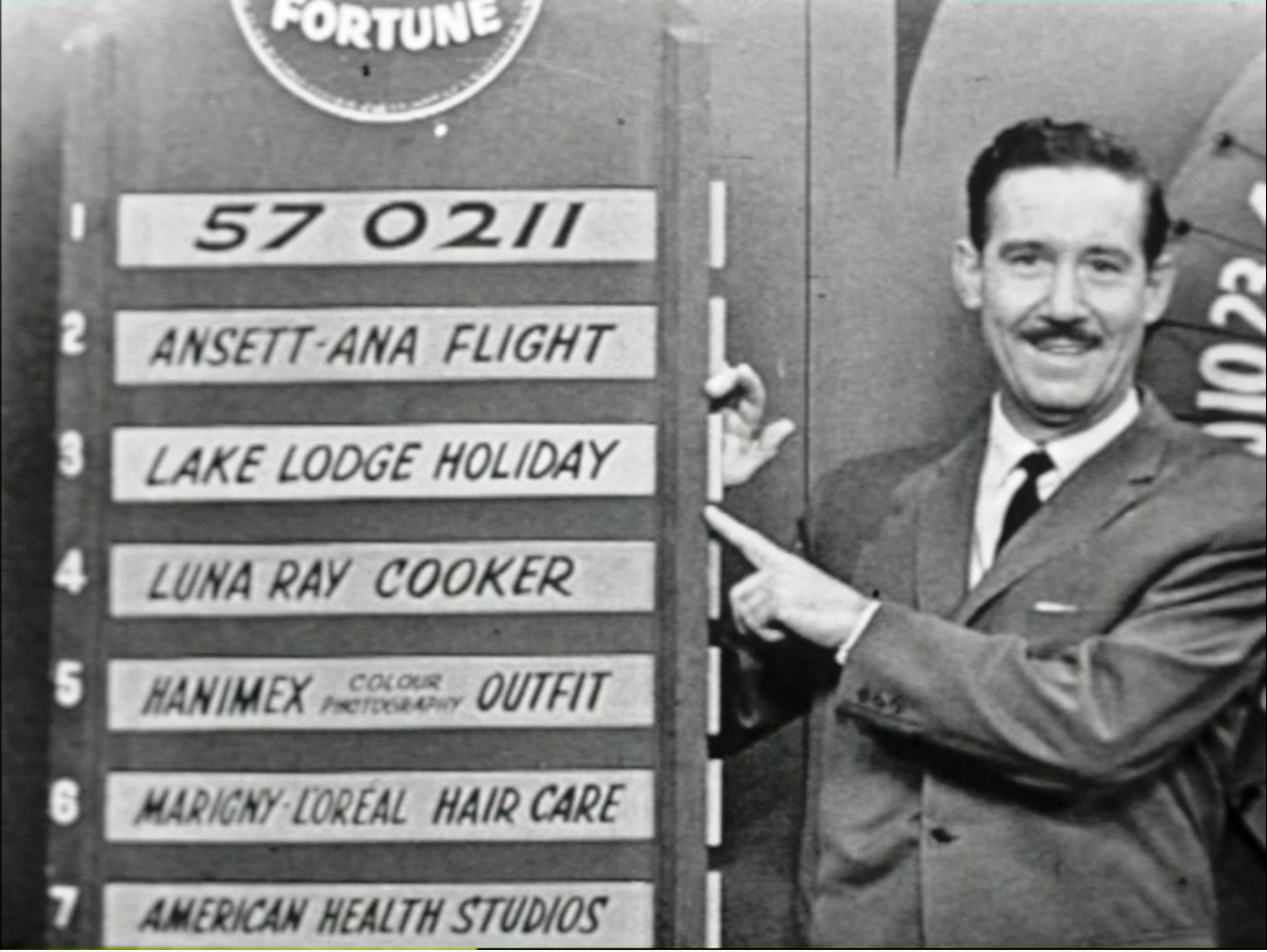 Reg Grundy 1959