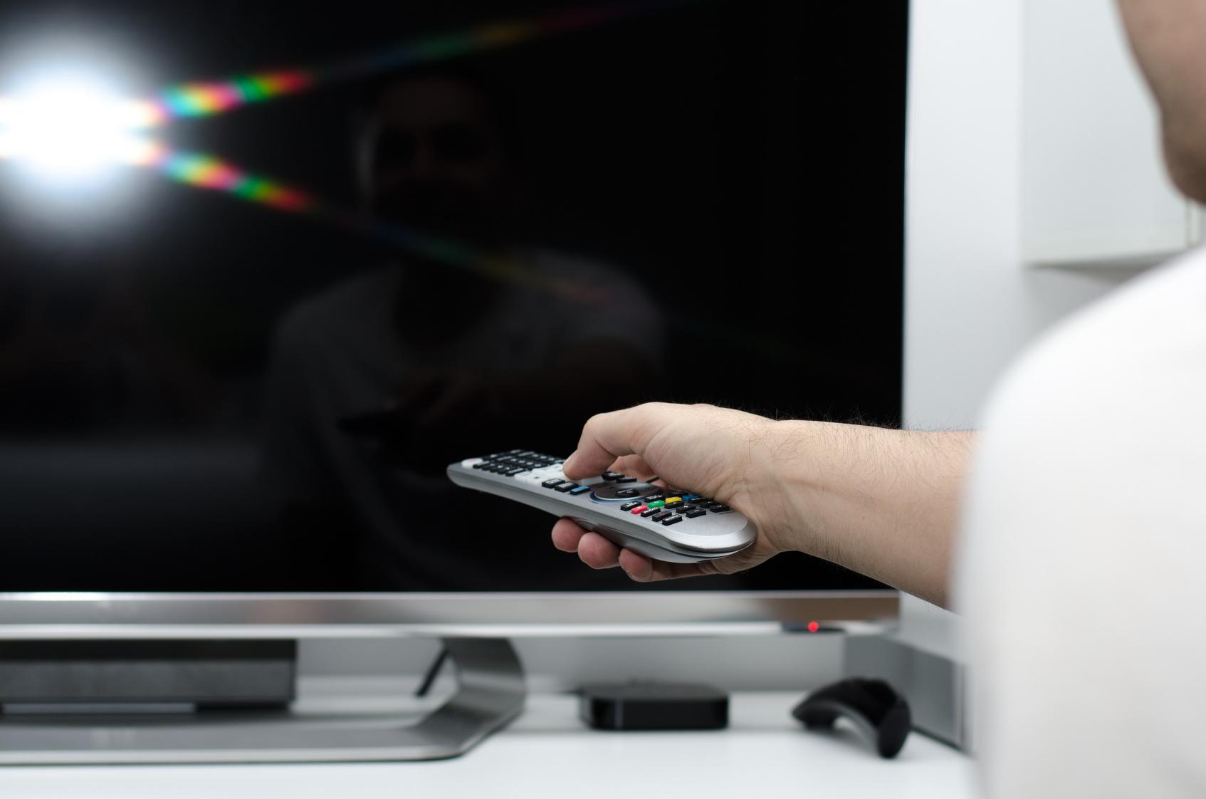 Widescreen high definition TV