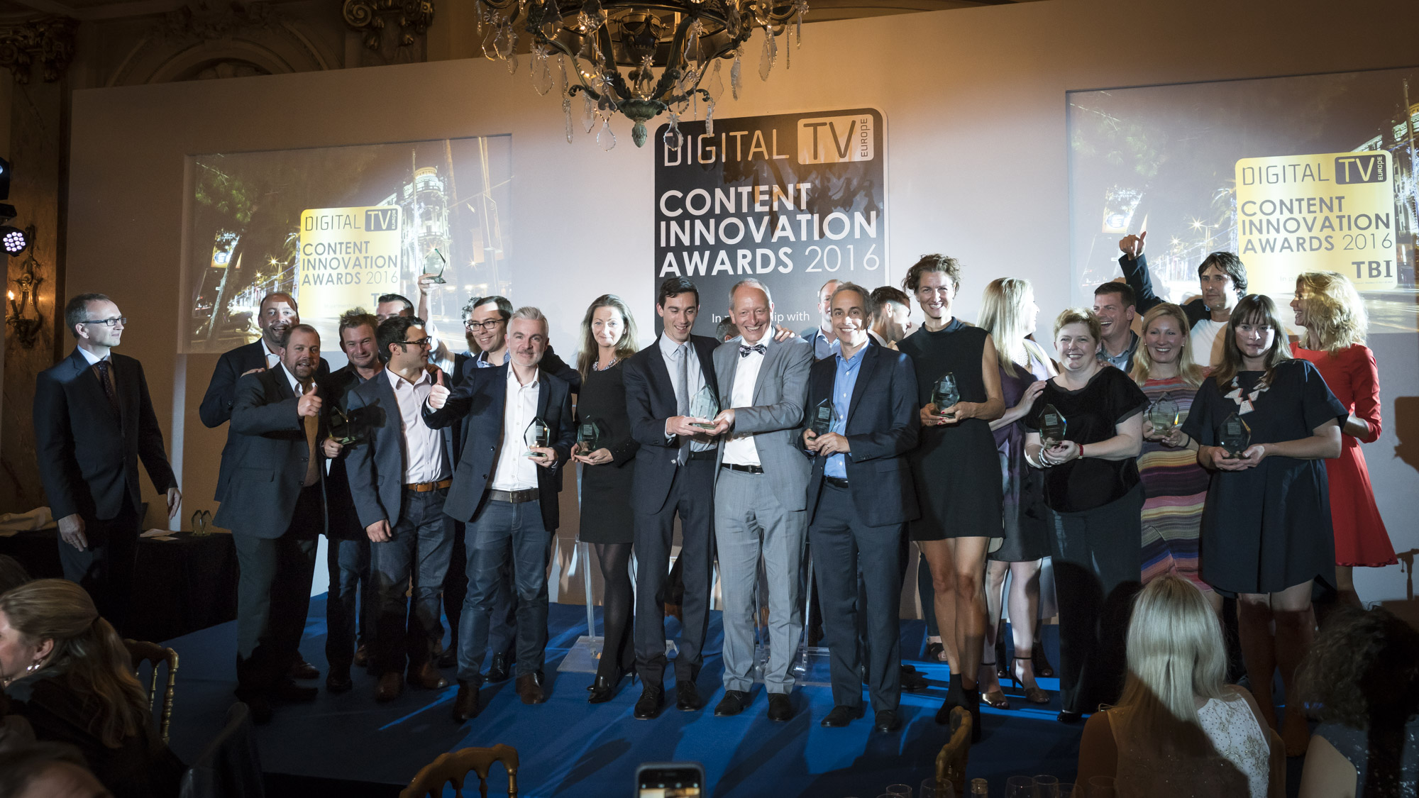 Content Innovation Awards winners 2016