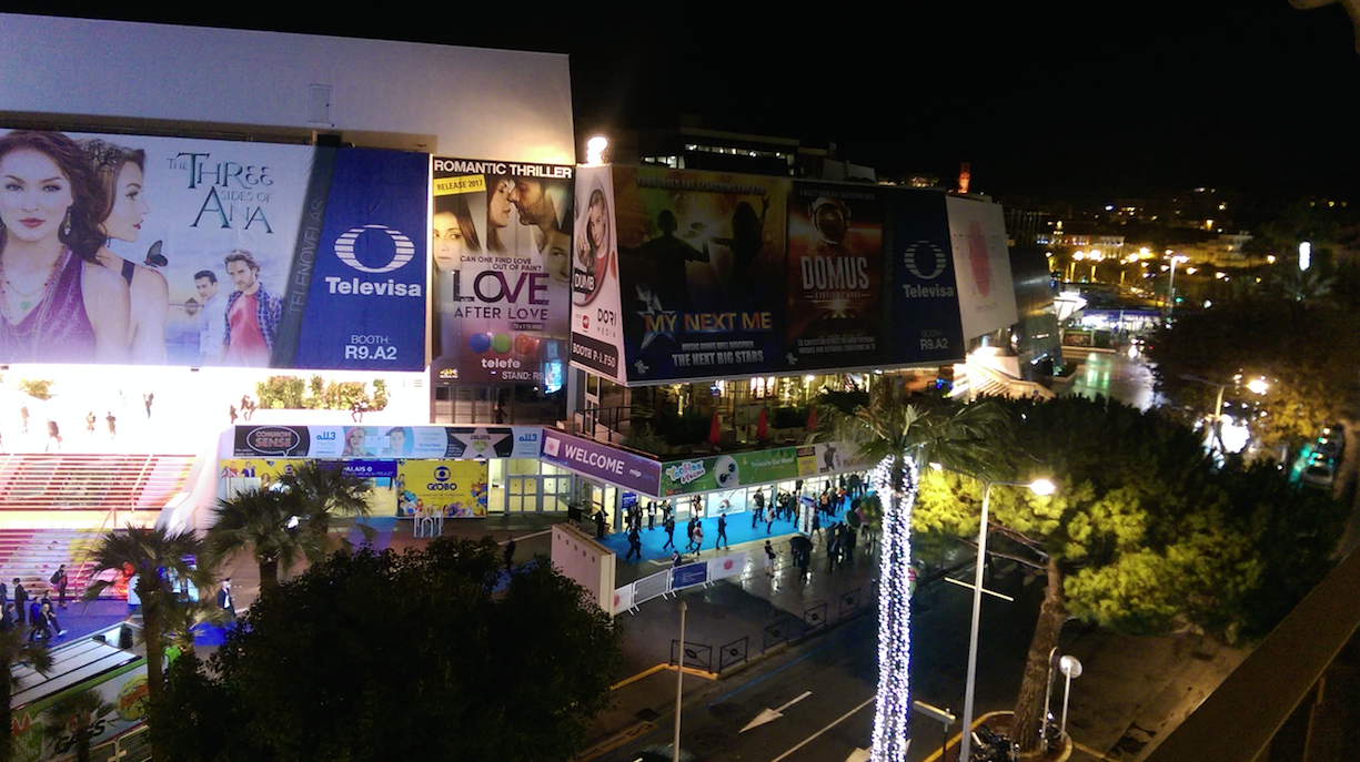 mipcom 2016 night