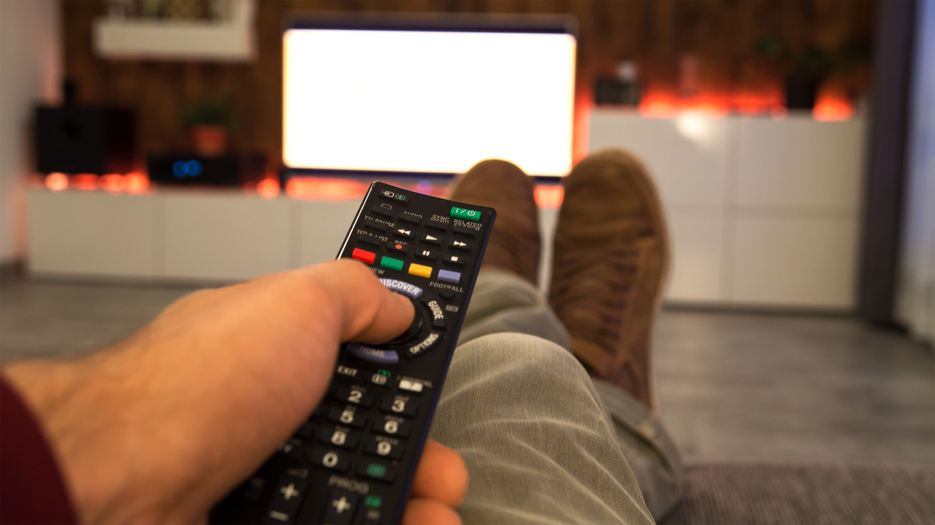 Zappen / Fernsehen / Fernbedienung
