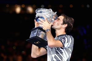 Eurosport Federer credit Greg Wood AFP Getty Images