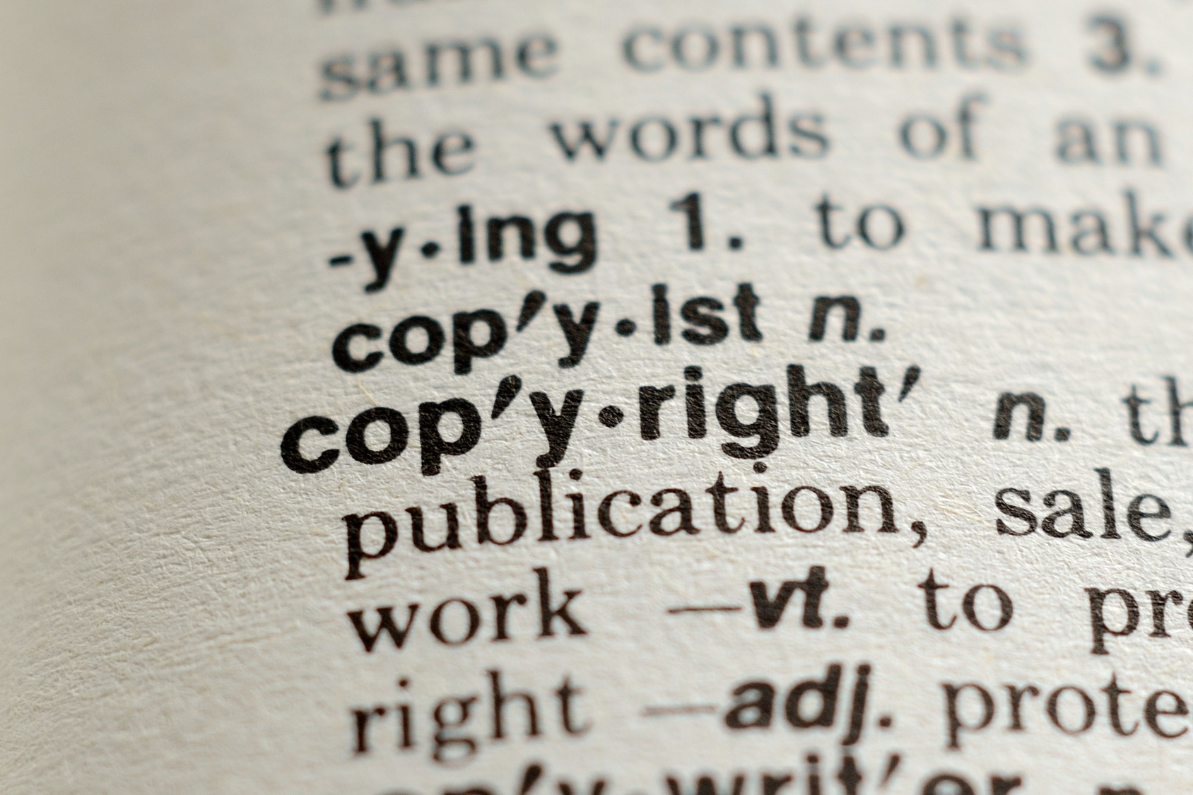 The Word Copyright