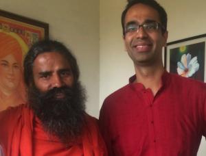 Swami Baba Ramdev & Karan Bajaj