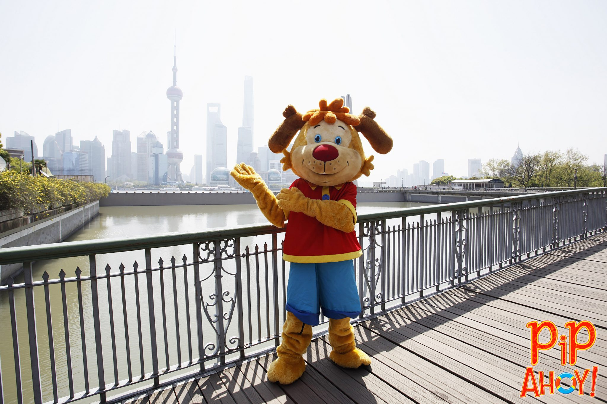 Pip Ahoy in China