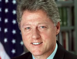 Bill Clinton in office