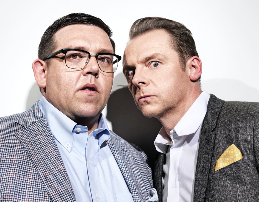 Nick Frost and Simon Pegg 1