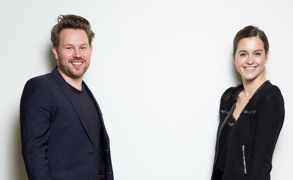 Niels Lindberg and Klara Sofie Svendsen 1