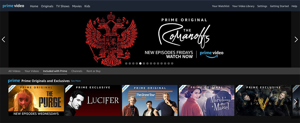 Amazon rules out Prime Video AVOD plans – TBI Vision