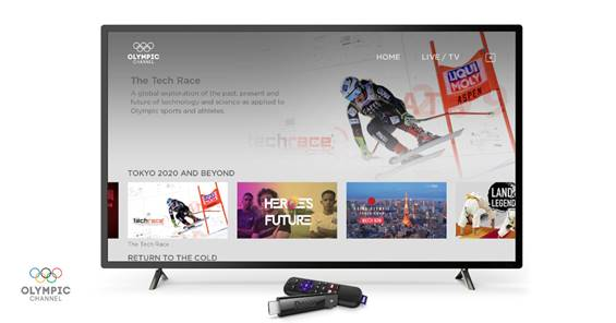 Roku launches the Olympic Channel