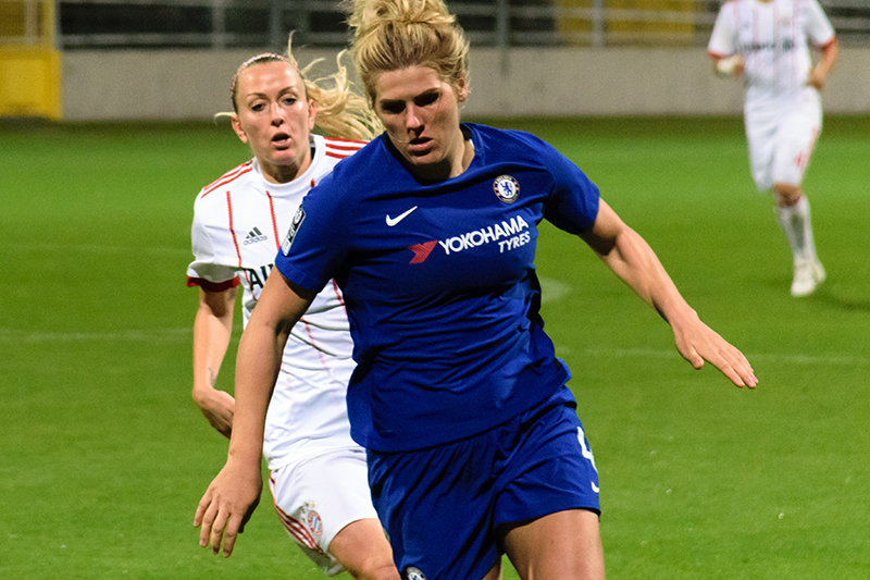 Fulwell73 Chelsea Fc Women Link Up On Flying High Tbi