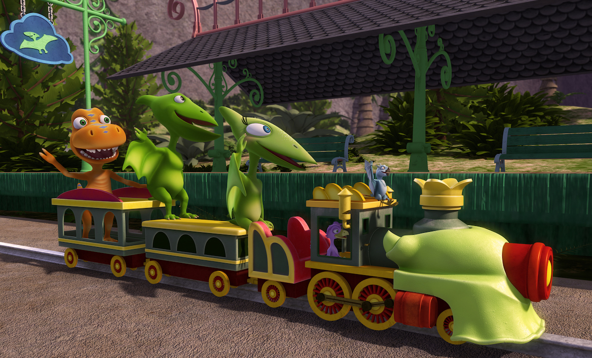 It's just a photo of Influential Dinosaur Train Pictures