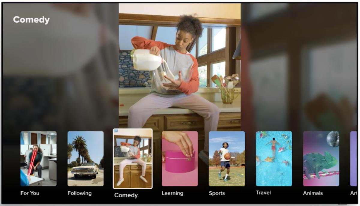 TikTok gets a dedicated app on Samsung smart TVs